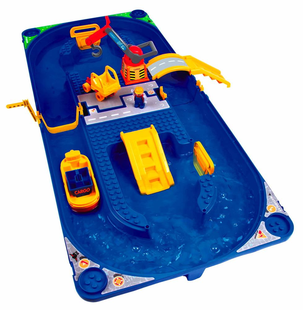 BIG Outdoor Wasser Spielzeug Wasserbahn Waterplay Funland 800055103