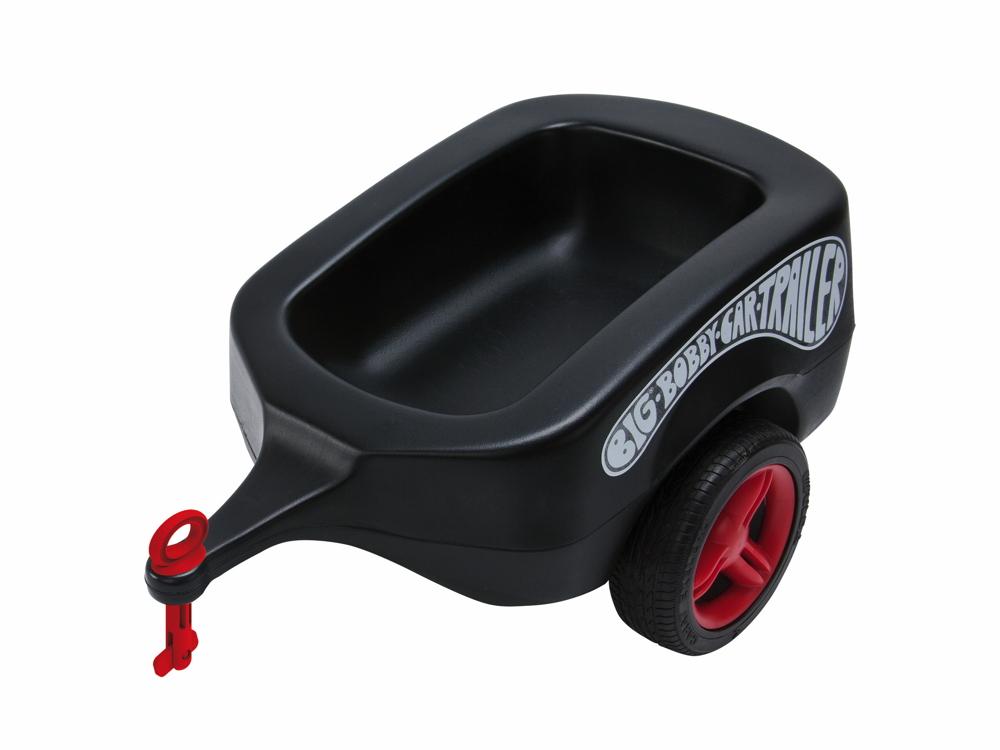 BIG Outdoor Spielzeug Anhänger Bobby Car Trailer Fulda schwarz 800056274