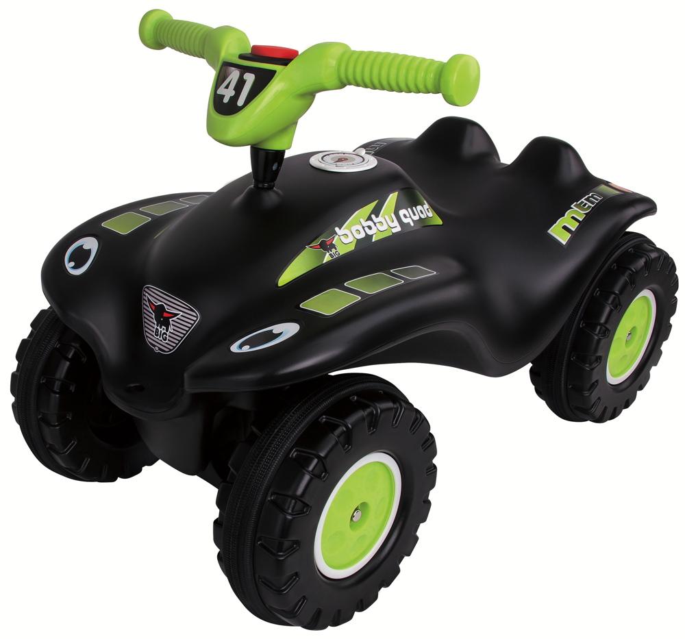 BIG Outdoor Spielzeug Fahrzeug Bobby Car Bobby Quad Racing schwarz 800056410