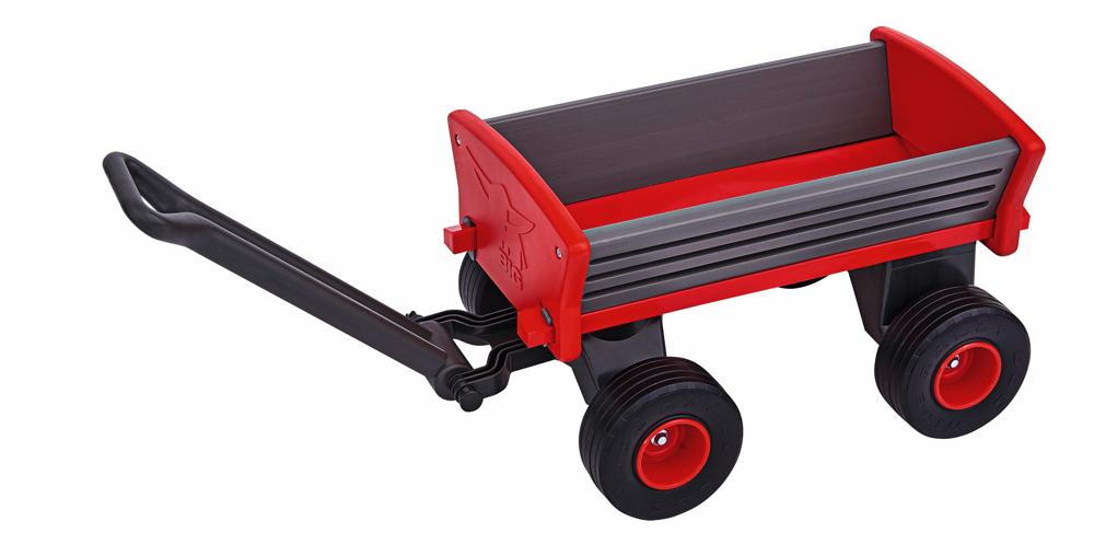BIG Outdoor Spielzeug Anhänger Bollerwagen Peppy Handwagen rot 800056602