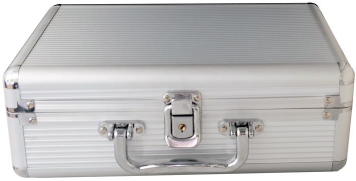 Mediarange HDD Festplatte DJ Koffer silber für 1x 3,5 externe Festplatte
