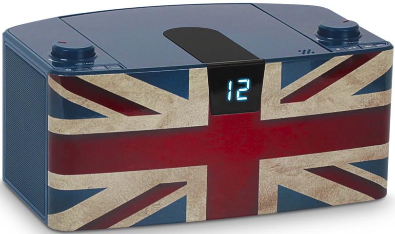 bigben tragbarer cd player cd57 union jack usb mp3 fm. Black Bedroom Furniture Sets. Home Design Ideas