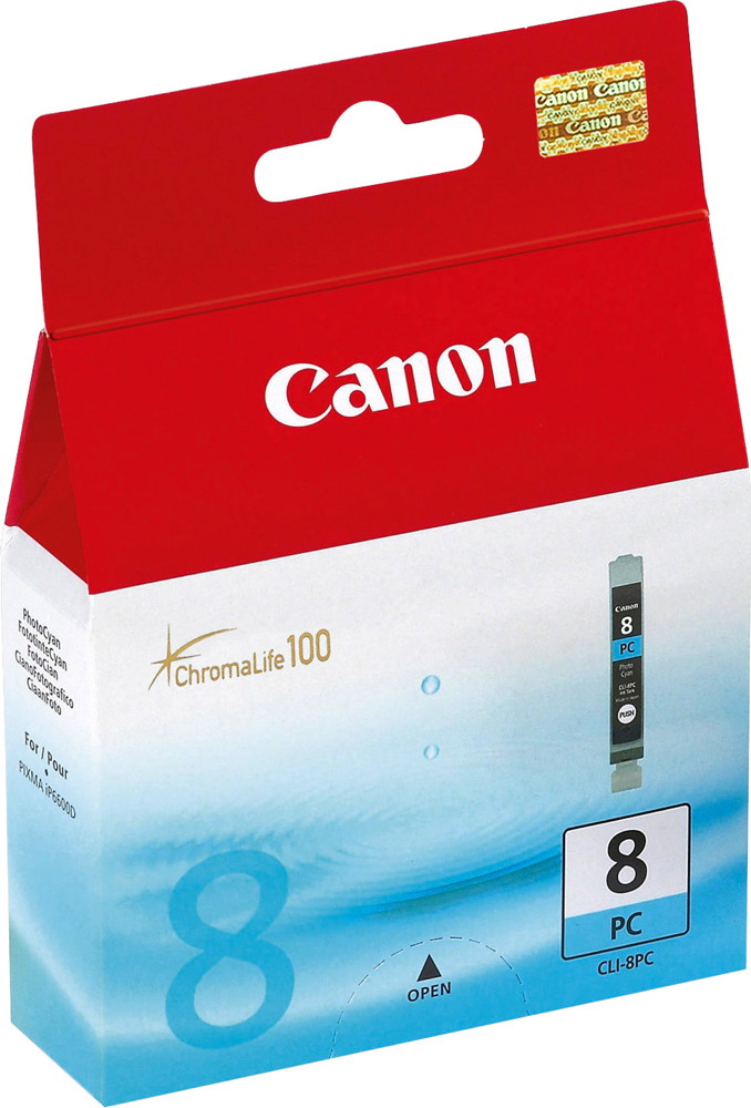 Canon Druckerpatrone Tinte CLI-8 PC photo cyan, photo blau