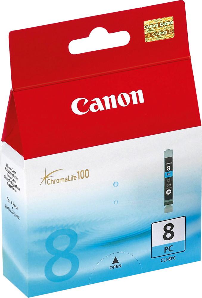 Canon Druckerpatrone Tinte CLI-8 PC photo cyan, photo blau