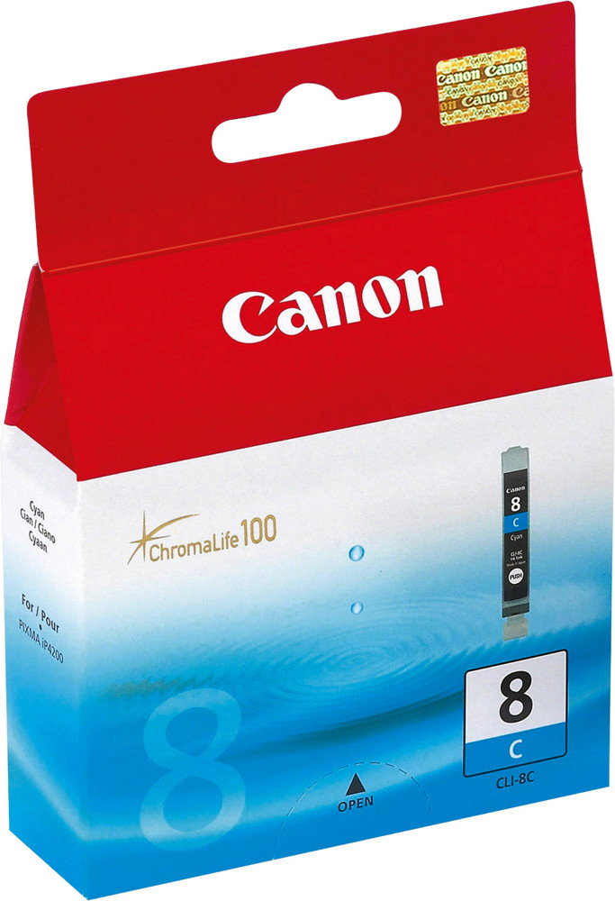 Canon Druckerpatrone Tinte CLI-8 C cyan, blau