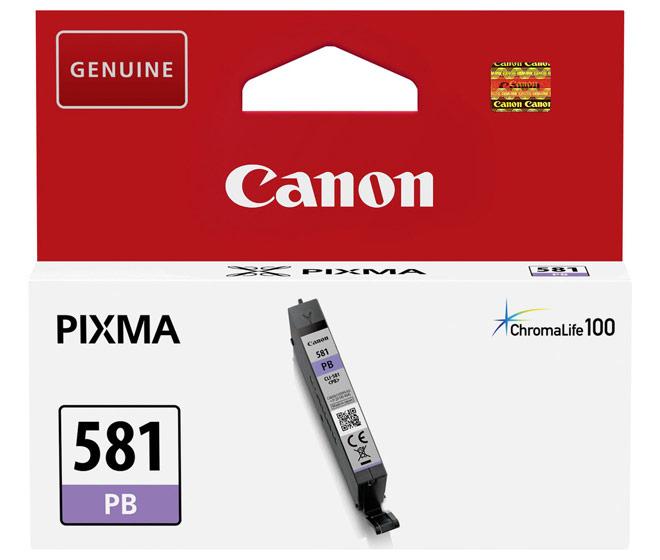 Canon Druckerpatrone Tinte CLI-581 PB photo cyan, photo blau