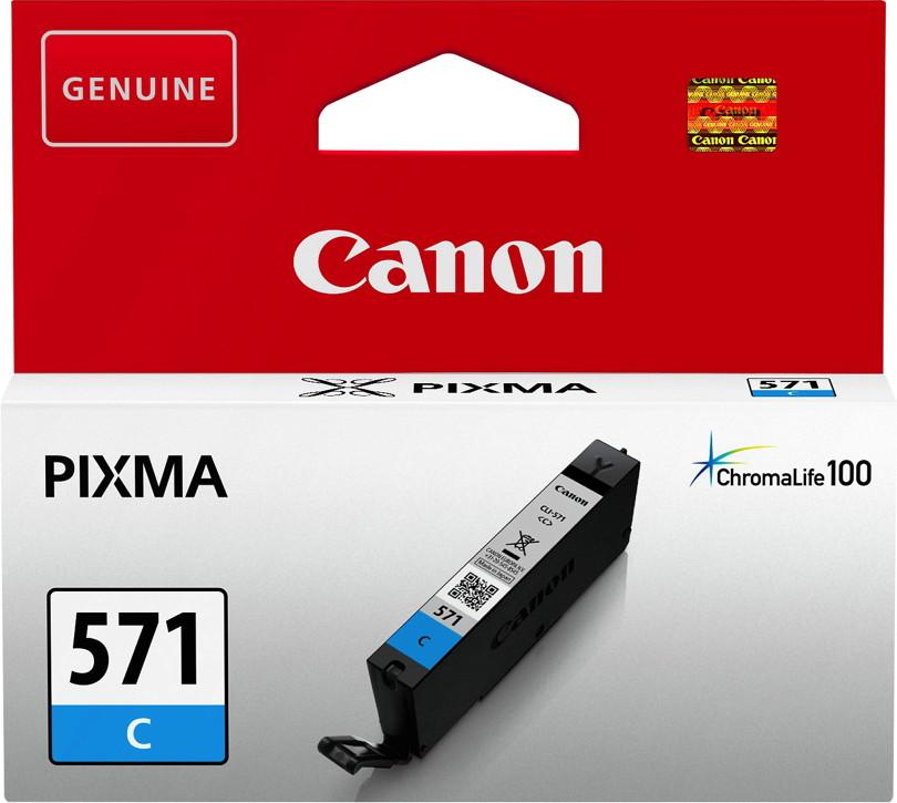 Canon Druckerpatrone Tinte CLI-571 C cyan, blau