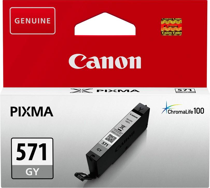 Canon Druckerpatrone Tinte CLI-571 GY grey, grau