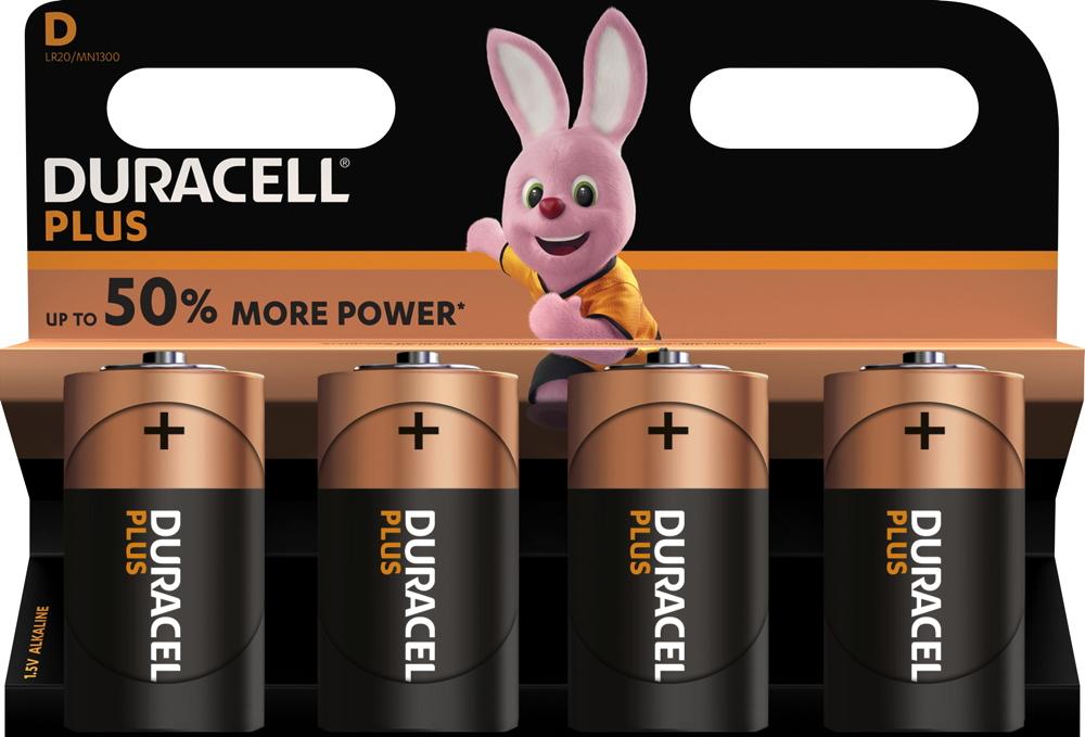 4 duracell plus power c baby mn1400 alkaline batterien im 4er blister. Black Bedroom Furniture Sets. Home Design Ideas