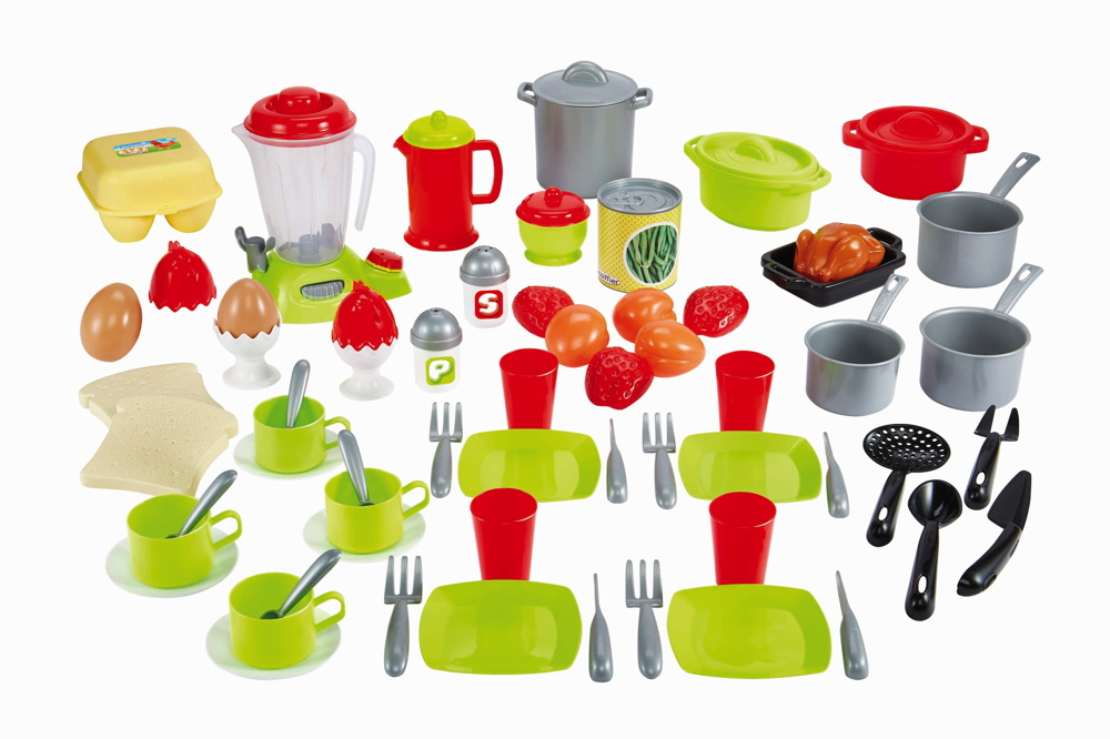 Ecoiffier Spielwelten Küche Zubehör Geschirr Set 7600002598