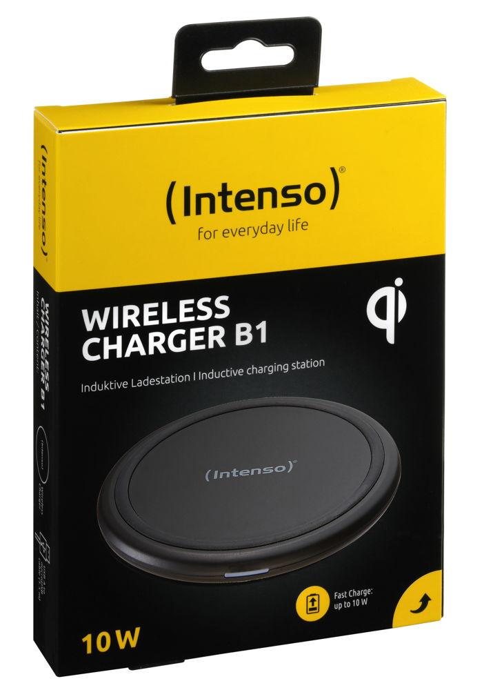 Intenso Wireless Charger B1 Output bis 10W (ohne Netzteil) schwarz