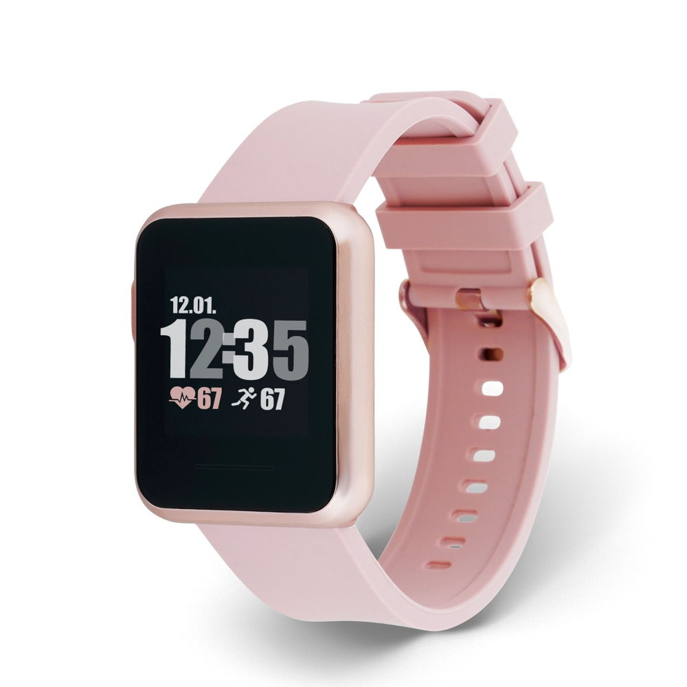 Xlyne Pro Smartwatch X-Watch Keto Sun Reflect sahara sun Android IOS pink