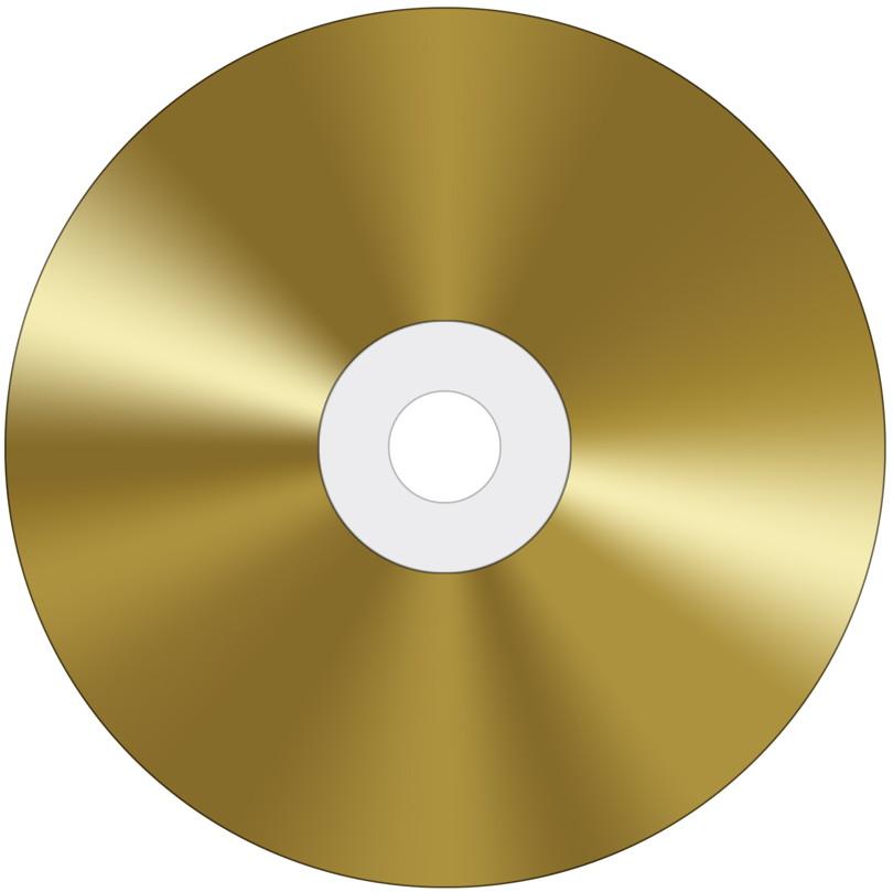 10 Professional Rohlinge Cd R Gold 24 Karat 80min 700mb 52x Spindel