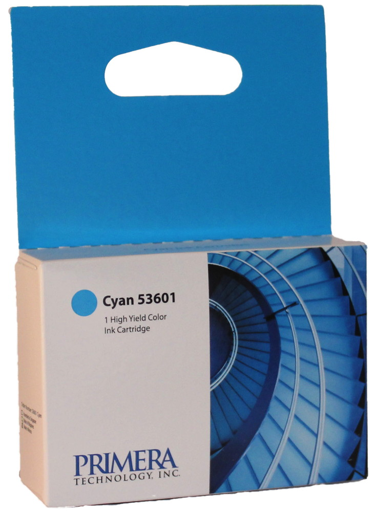 Primera Druckerpatrone Tinte Nr. 53601 Disc Publisher DP-410x cyan, blau