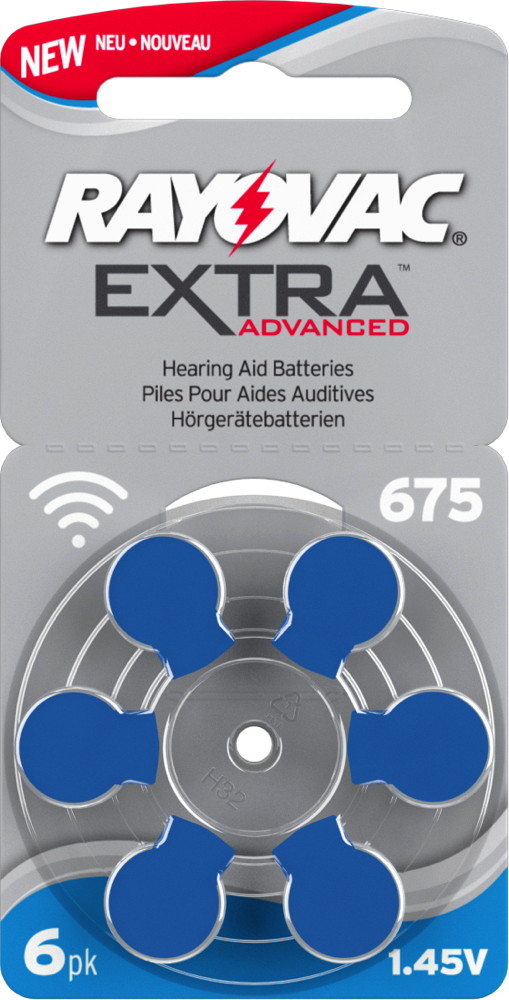 Luft Typ 675 1.45V Blister kQ 30x Varta Power One Hörgerätebatterie Zink