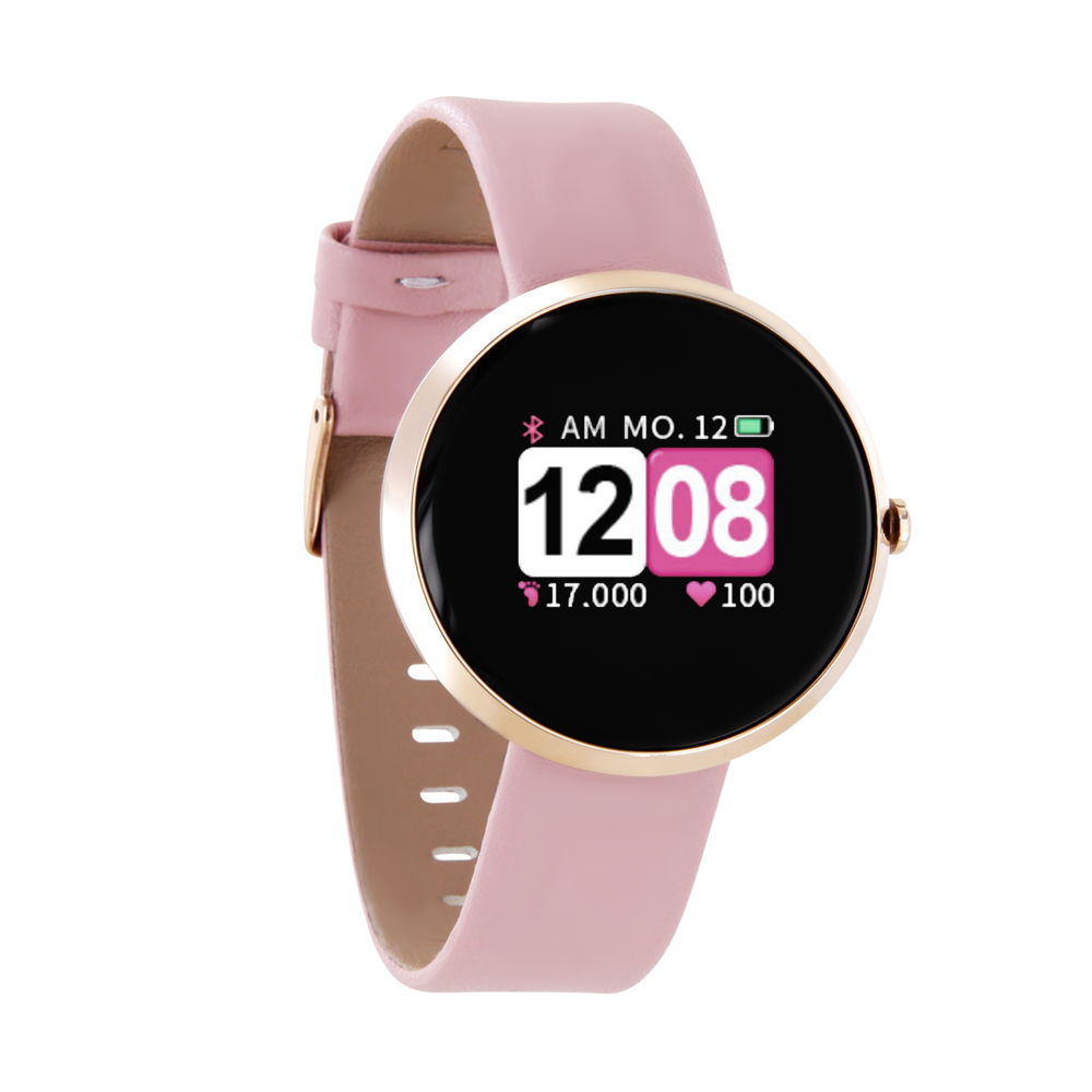Xlyne Pro Smartwatch X-Watch Siona Color Fit rose gold Android IOS rosa