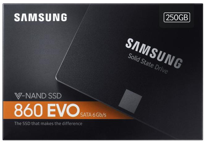 Samsung SSD interne Festplatte 860 Evo TLC 2,5 Zoll 250GB SATA III
