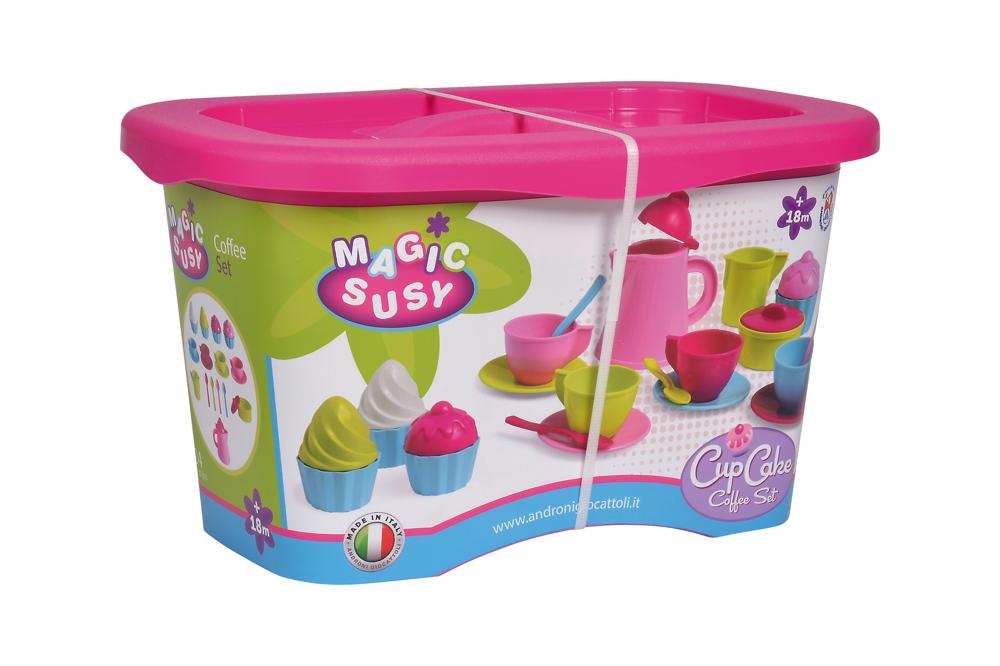 Simba Outdoor Spielzeug Sand & Strand Cupcake Service Set 107102626