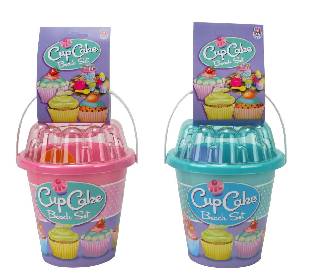 Simba Outdoor Spielzeug Sand & Strand Eimergarnitur Cupcake Set zufällige Auswahl 107110554