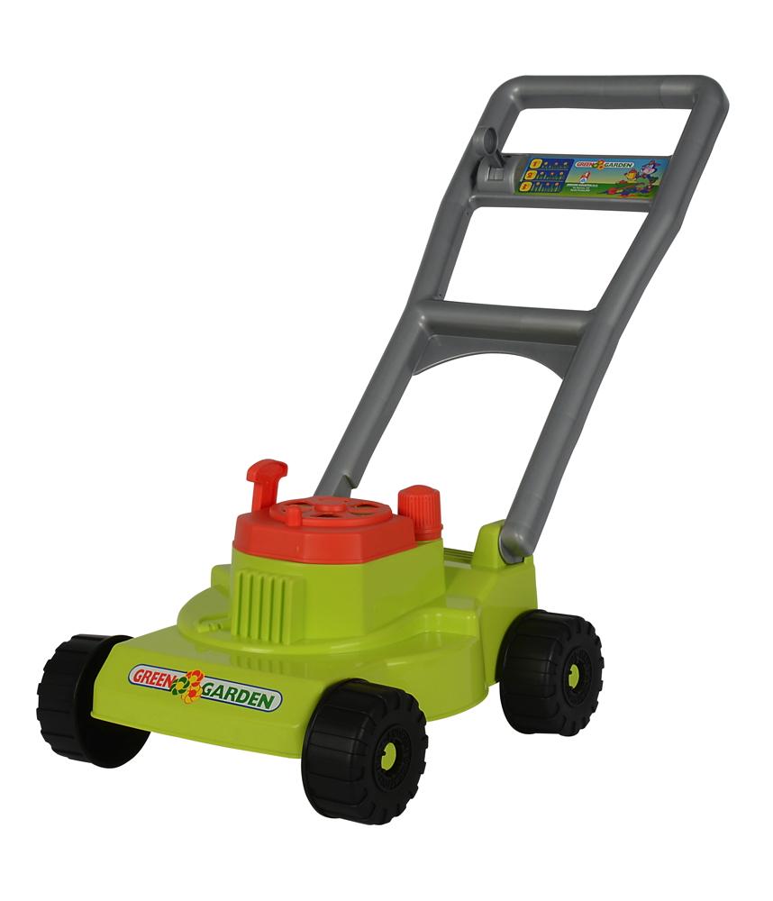 Simba Outdoor Spielzeug Gartenhelfer Rasenmäher grün 107131362