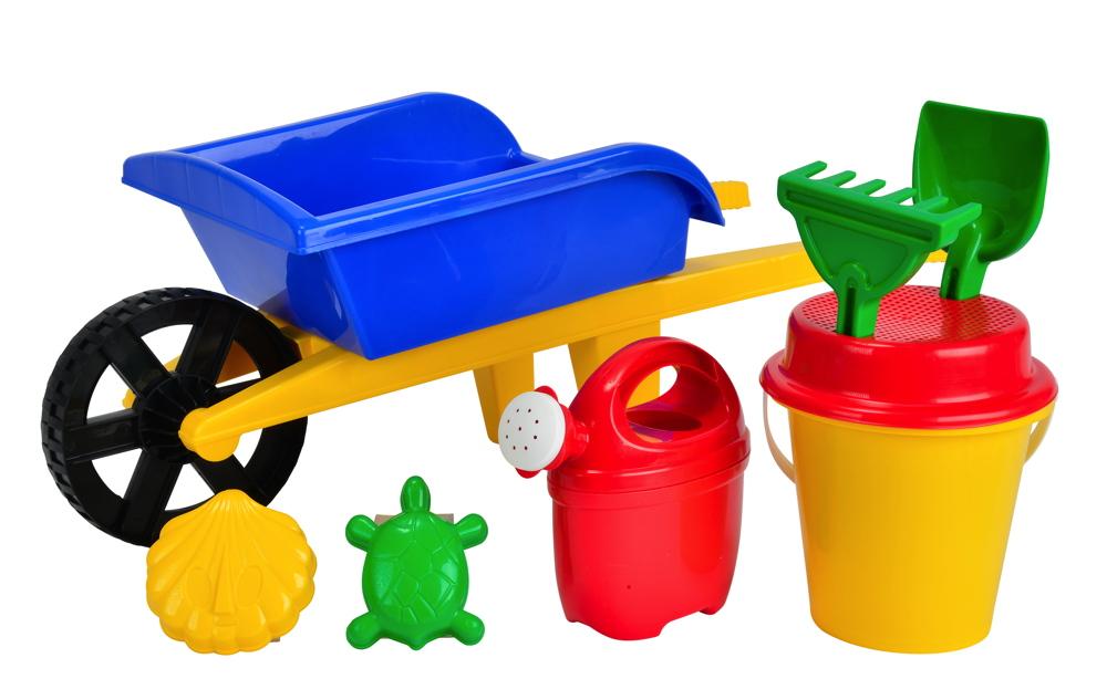 Simba Outdoor Spielzeug Sand & Strand Schubkarre Set 107136235