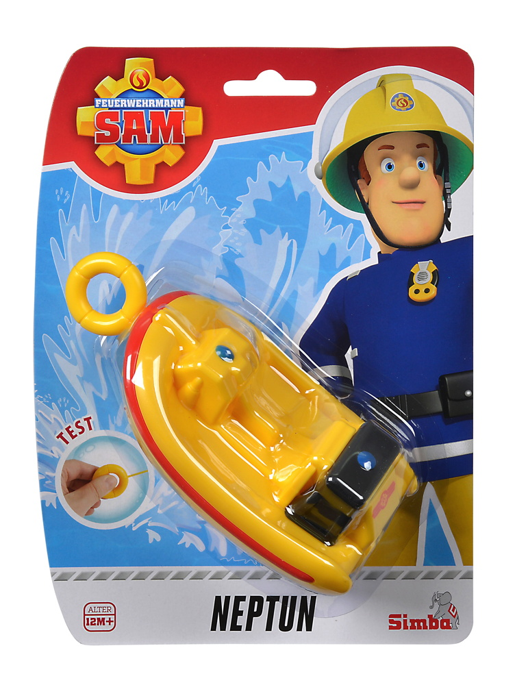 Simba Outdoor Wasserspielzeug Aufziehboot Aufziehboot Neptun Fireman Sam 109252135