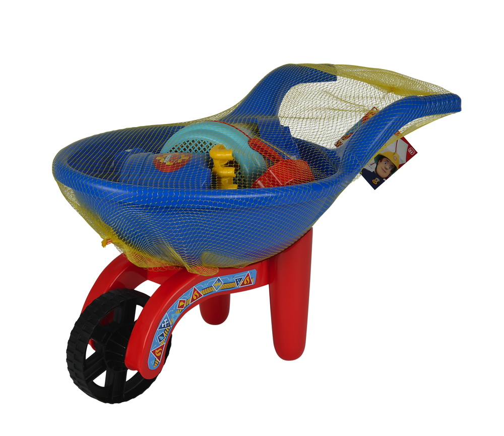 Simba Outdoor Spielzeug Sand & Strand Schubkarre Set Fireman Sam 109256118