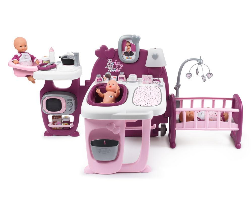 Smoby Spielzeug Rollenspiel Puppen Baby Nurse Puppen Spielcenter 7600220349