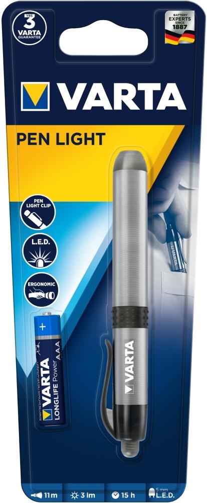 Varta Stiftlampe LED Pen Light inkl. AAA Batterie 16611