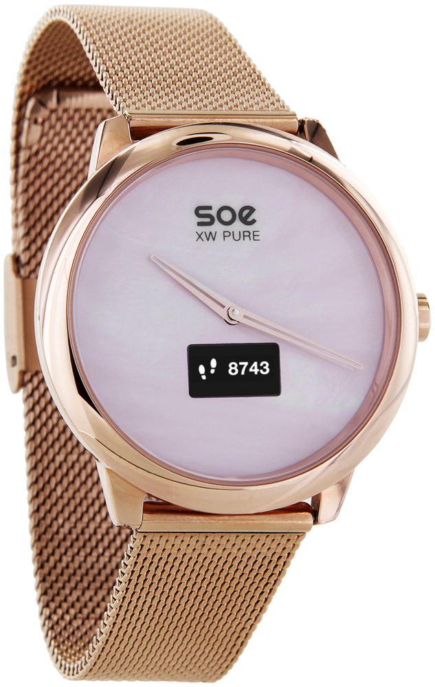 Xlyne Pro Smartwatch X-Watch Soe XW Pure gold Android IOS gold rosé