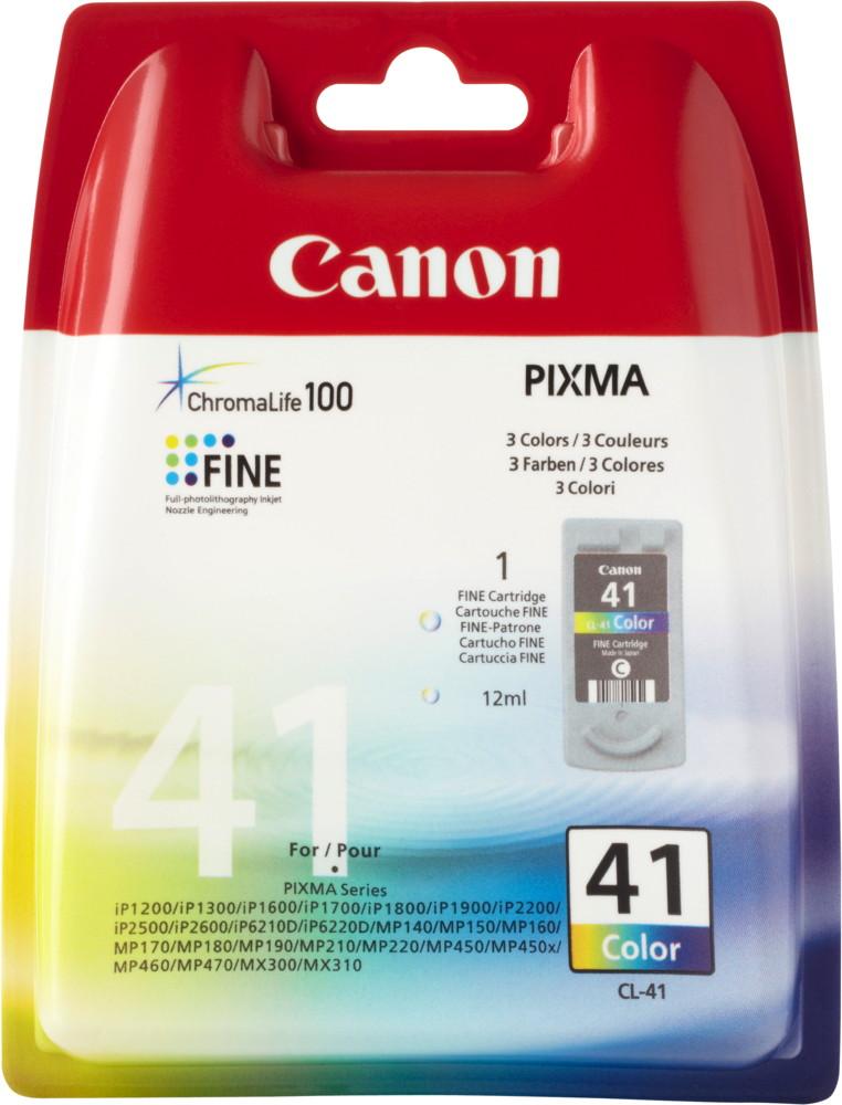Canon Druckerpatrone Tinte CL-41 tri-color, dreifarbig