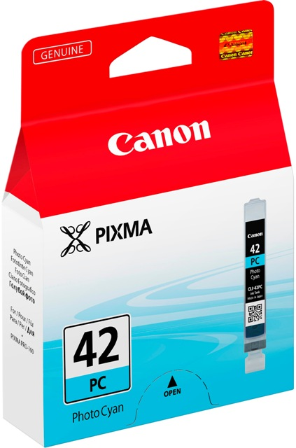 Canon Druckerpatrone Tinte CLI-42 PC photo cyan, photo blau