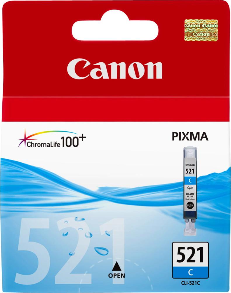 Canon Druckerpatrone Tinte CLI-521 C cyan, blau
