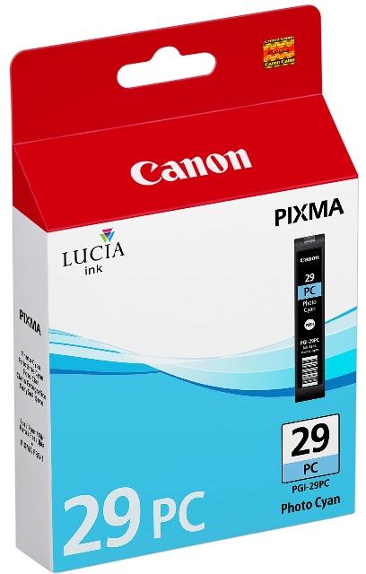 Canon Druckerpatrone Tinte PGI-29 PC photo cyan, photo blau