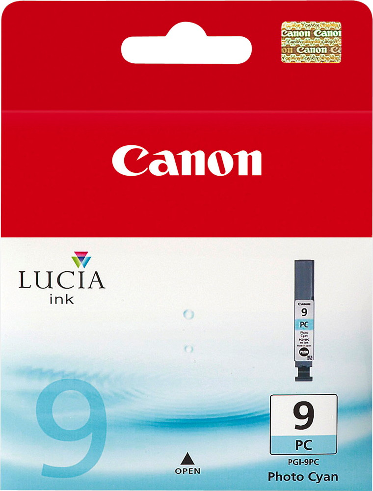 Canon Druckerpatrone Tinte PGI-9 PC photo cyan, photo blau