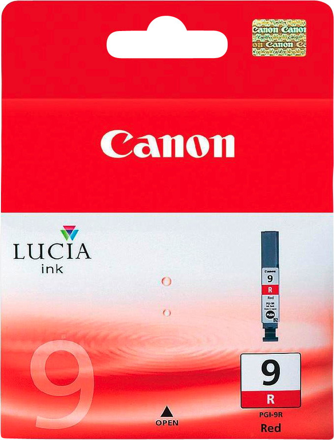 Canon Druckerpatrone Tinte PGI-9 R red, rot
