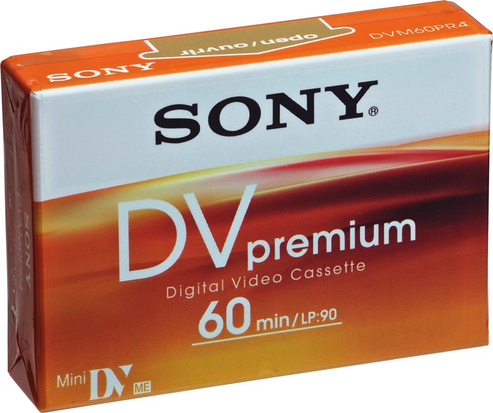 1 Sony Videokassette Mini DV Premium 60 Minuten (LP: 90 Minuten)